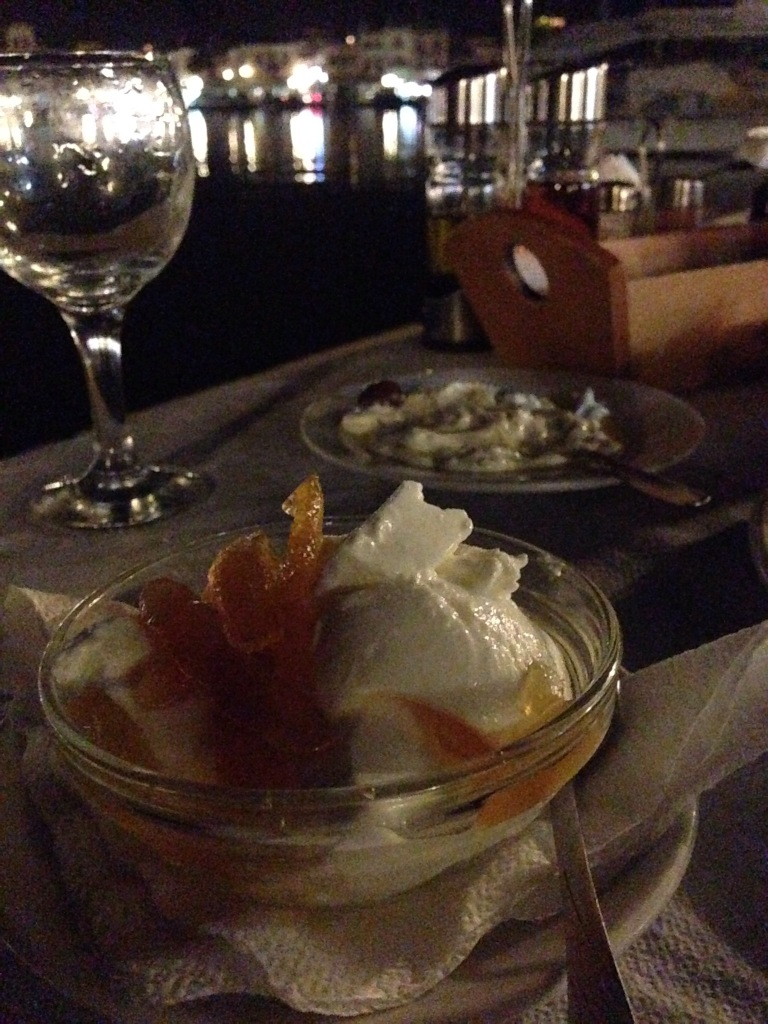 More yogurt, with quince